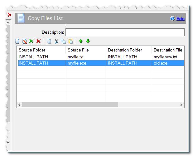 Copy Files List