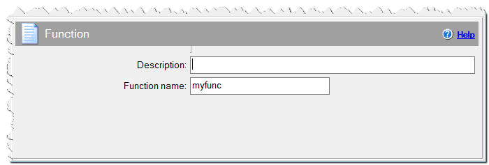 Function command