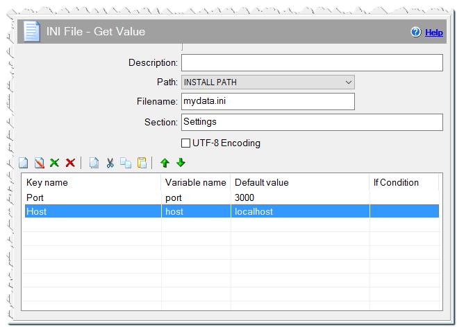 INI File - Get Value command