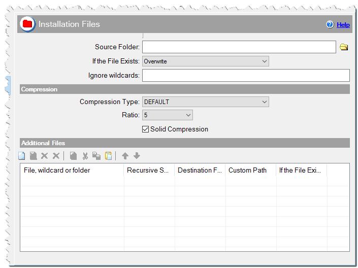 Installation Files in CreateInstallAssistant installer