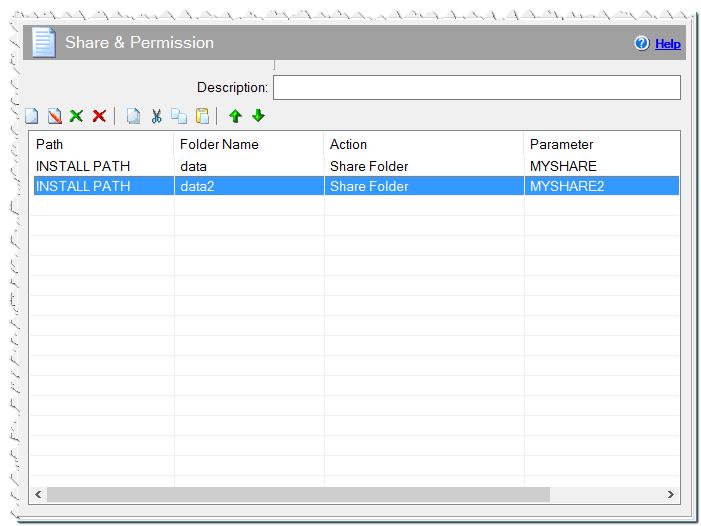 Share & Permission command